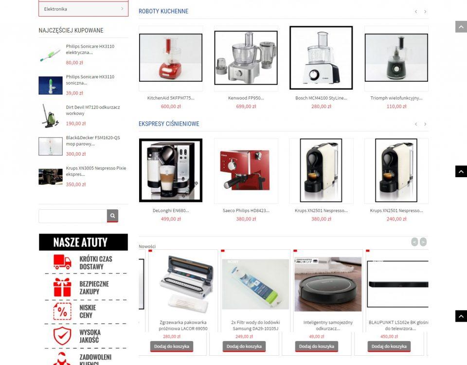 zintgrowany sklep internetowy z Allegro